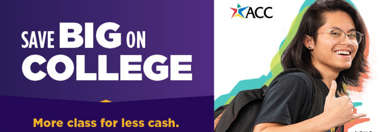 Save big on college, more class for less cash.