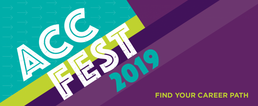 ACC Fest 2019. Find Your Career Path