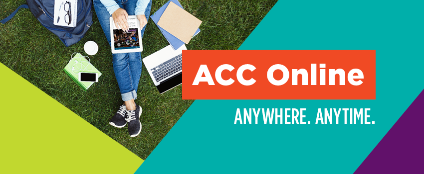 ACC Online Anywhere. Anytime.