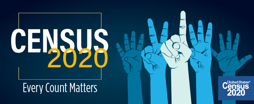 Census 2020 Every Count Matters.