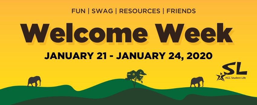 Connect with Student Life during Welcome Week activities and get to know your campus!