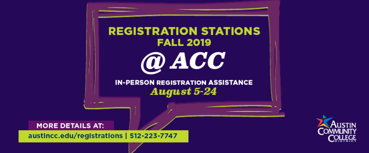 Registration Stations @ ACC  In-Person Enrollment Assistance