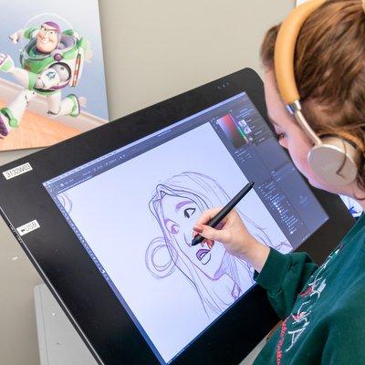 Animation student