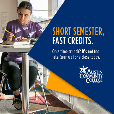 Short Semester. Faster Credits.