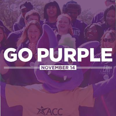 Go Purple November 14