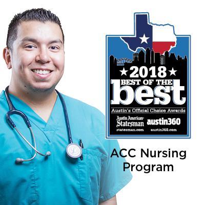 2018 Austin American Stateman Best of the Best ACC Nursing Program.