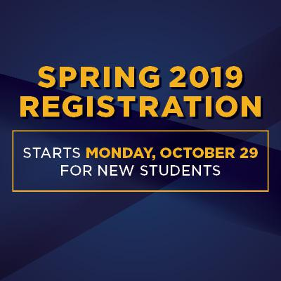 Sprint 2019 registration starts Monday, October 29 for new students
