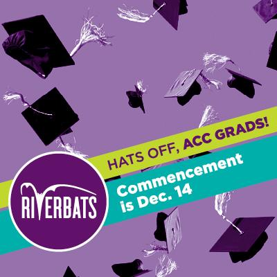 Hats off, ACC Grads! Commencement is Dec. 14
