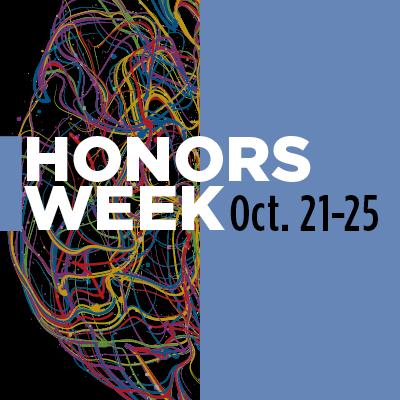Honors Week October 21-25