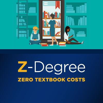 Z-Degree Programs and Classes eliminate textbook costs