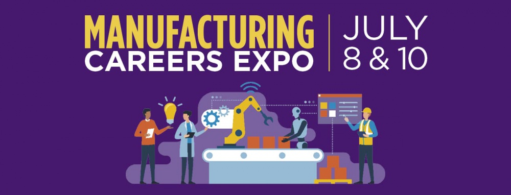 Manufacturing Careers Expo Graphic