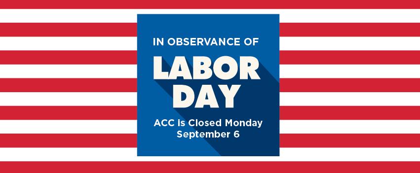 Labor Day Closure Graphic