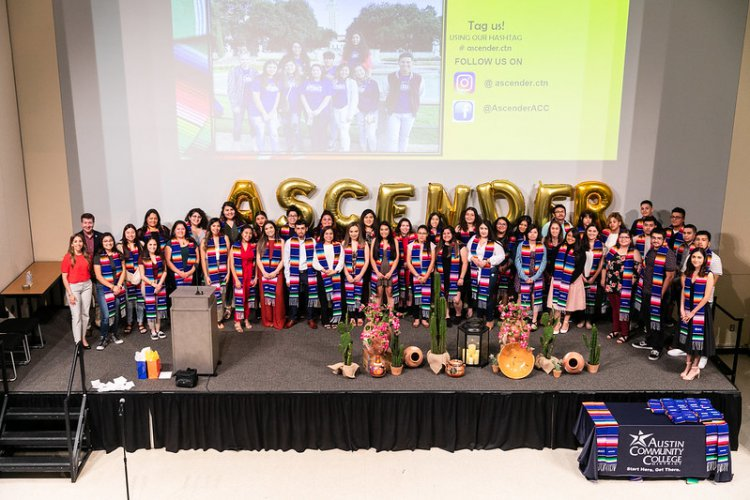 End of the academic year celebration for ACC Ascender students on Tuesday, May 7, 2019, at the Eastview Campus.
