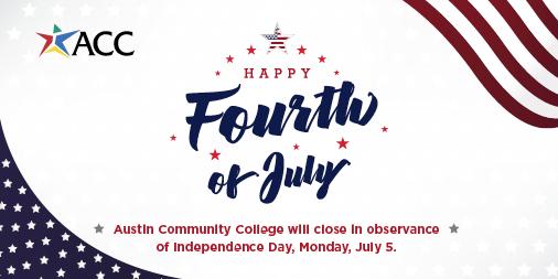 July 4th closure graphic