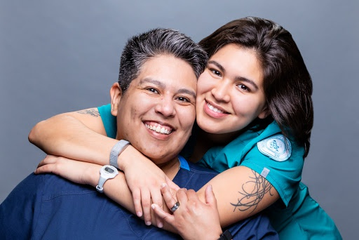 Marie and Catalina Nursing Students