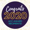 Congrats 2020 ACC Award Recipients