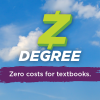 z-degree: zero costs for textbooks