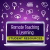 Remote Learning and Resources graphic