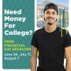 Need Money for College? Free Financial Aid Sessions July 17 and August 7.