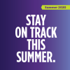 Stay on Track this summer graphic
