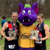 RB with winners at Fairway 5K race