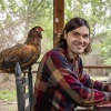 ACC Associate Professor of Government Ted Hadzi-Antich Jr. and his chicken Zooky