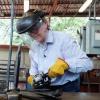 Valerie Chaussonnet welding artwork