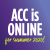 ACC online for summer 2020