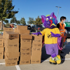 R.B. at Hays food distribution